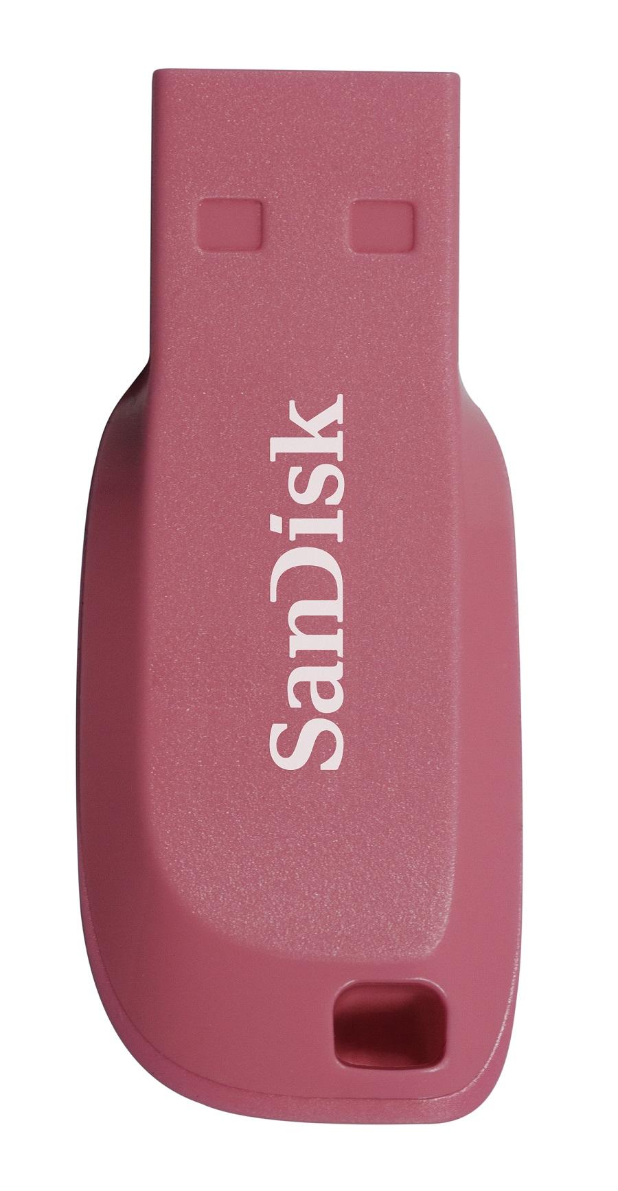 SanDisk Cruzer Blade 16GB USB2.0 elektricky růžová
