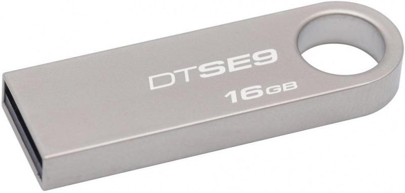 16GB Kingston USB 2.0 DTSE9 pro potisk blistr