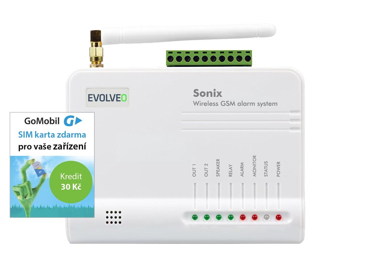 EVOLVEO Sonix, bezdrátový GSM alarm