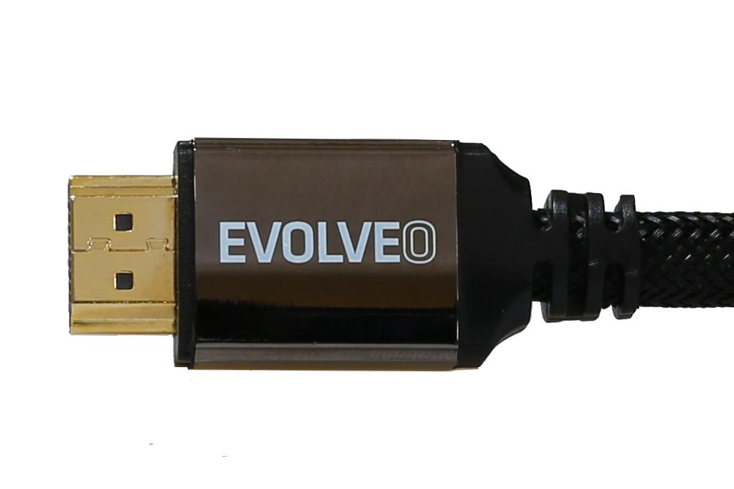 EVOLVEO XXtremeCord, kabel HDMI 2.0b, 3 metry, podpora UltraHD 4K2K/HDR