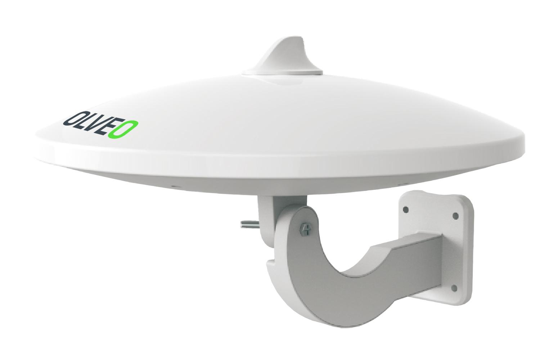 EVOLVEO Jade 1 LTE, 48dBi aktivní venkovní anténa DVB-T/T2, LTE filtr