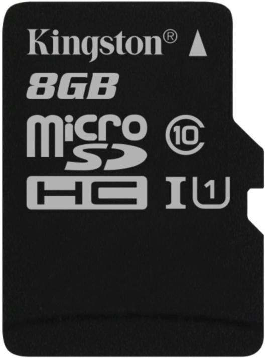 Kingston 8GB microSDHC UHS-I Industrial Temp Card Single Pack (bez adaptéru)