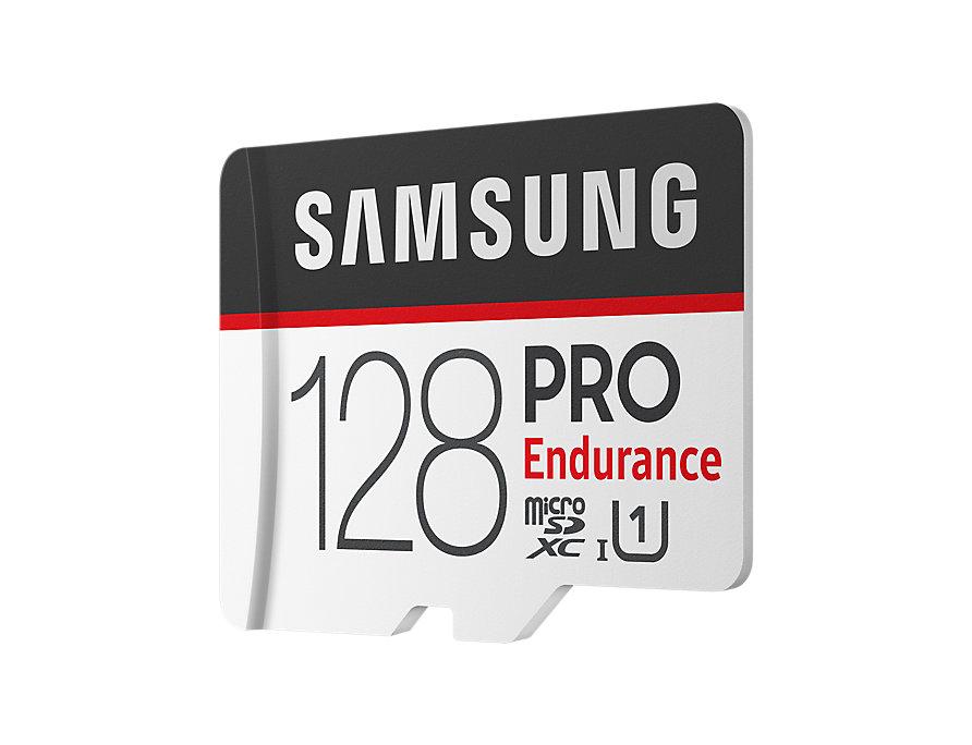 Micro SDXC 128GB Samsung PRO endurance +SD adaptér