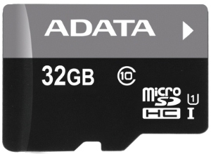ADATA 32GB MicroSDHC Premier,class 10,with Adapter