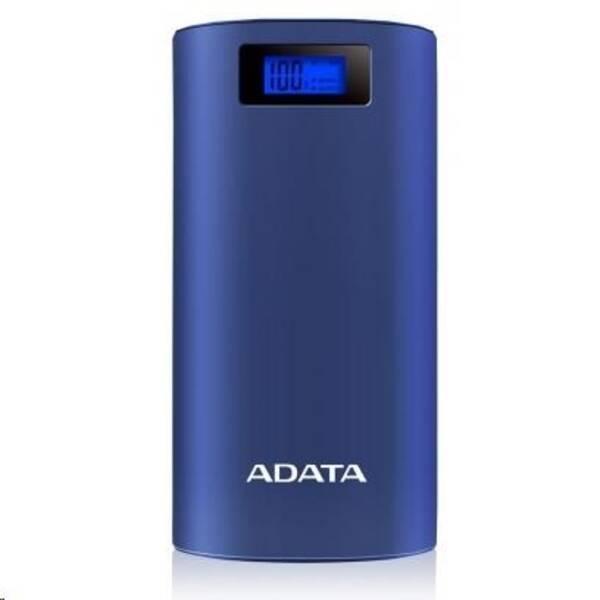 ADATA P20000D Power Bank 20000mAh modrá