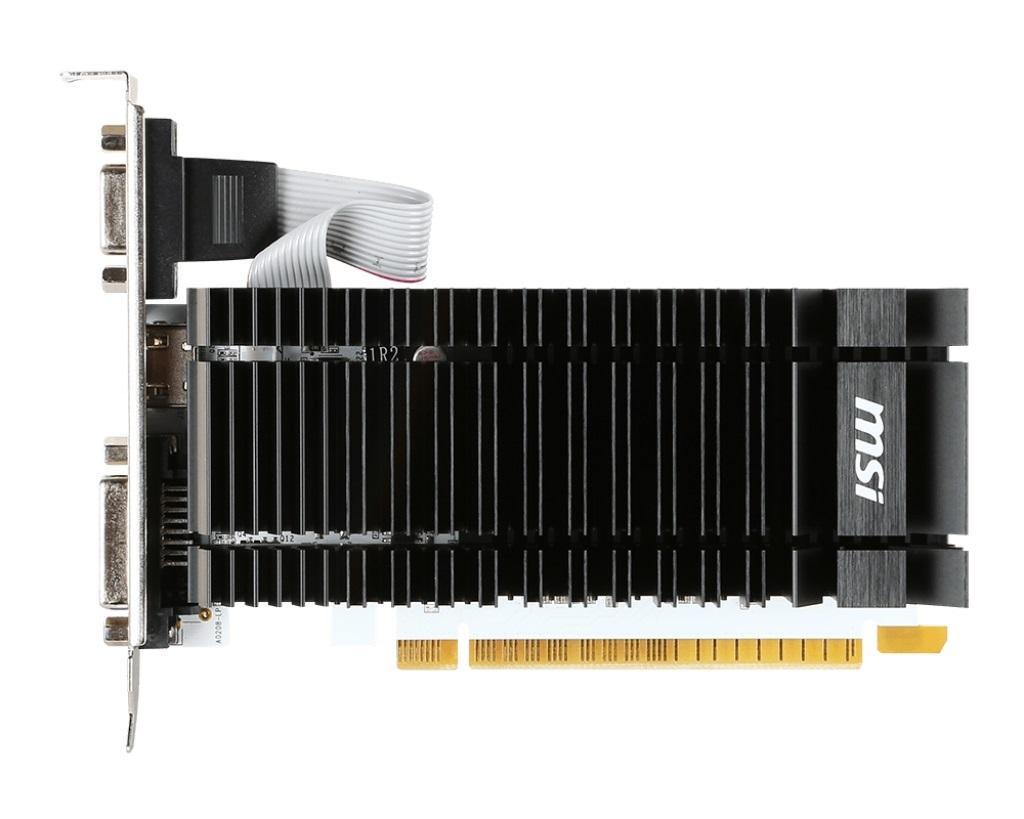 MSI VGA NVIDIA N730K-2GD3H/LP, GT730K, DDR3 2GB, DVI-D, HDMI,pasiv