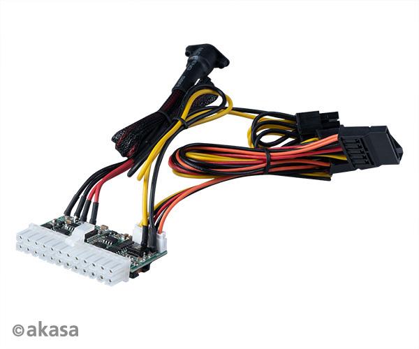 AKASA adaptér 150W DC pro DC ATX power