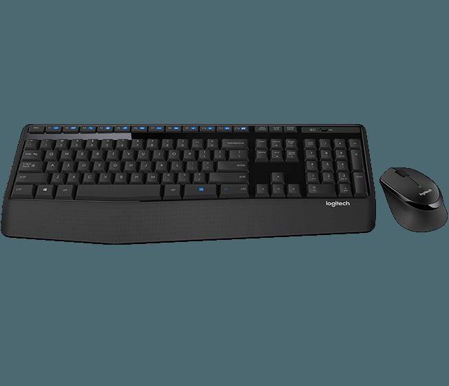 set Logitech Wireless Combo MK345 CZ/SK