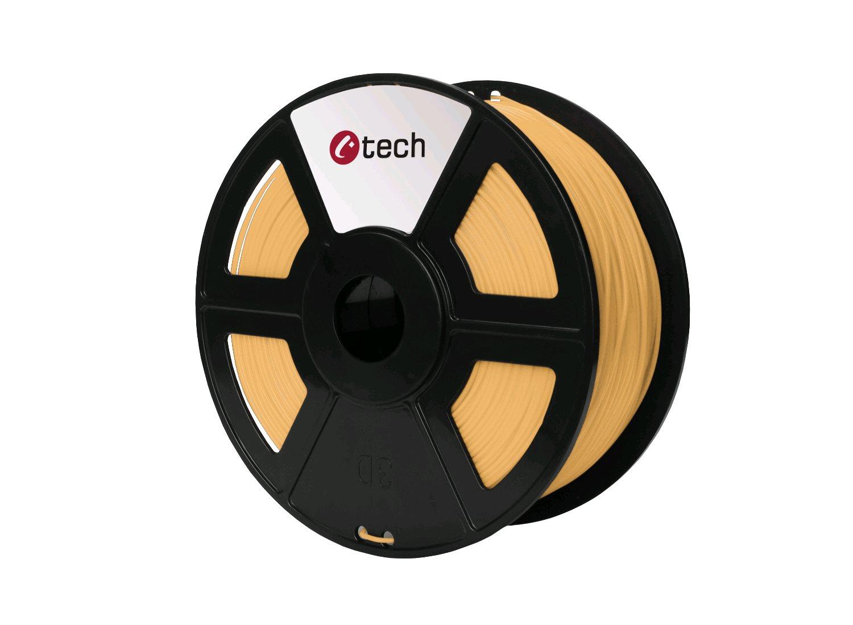 Tisková struna (filament) C-TECH, PLA, 1,75mm, 1kg, skin (barva lidské kůže)
