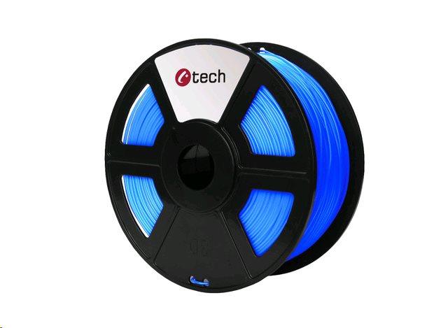 ABS FLUORESCENT BLUE modrá C-TECH, 1,75mm, 1kg