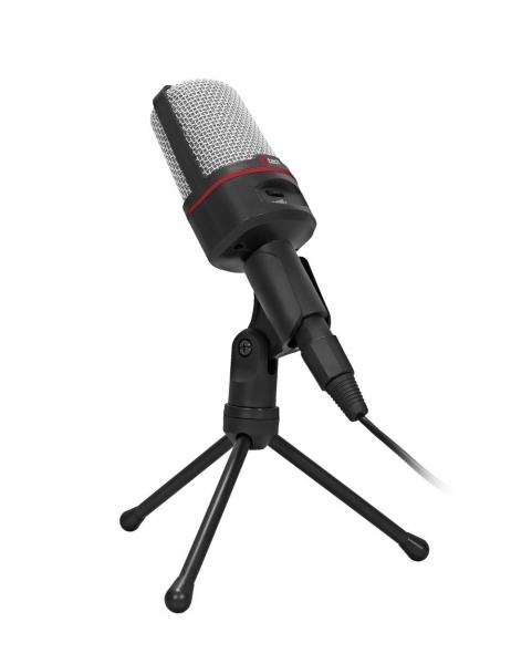 Stolní mikrofon C-TECH MIC-02, 3,5