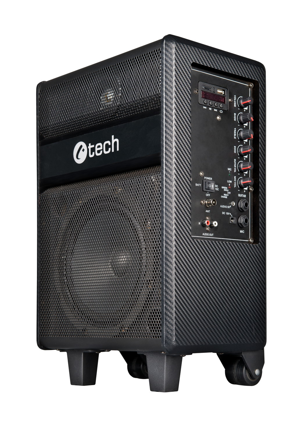 repro C-TECH Impressio Party, all-in-one, 35W, PMPO 300W