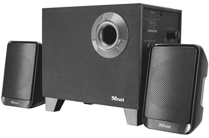 TRUST Reproduktory Evon Wireless 2.1 Speaker Set with Bluetooth