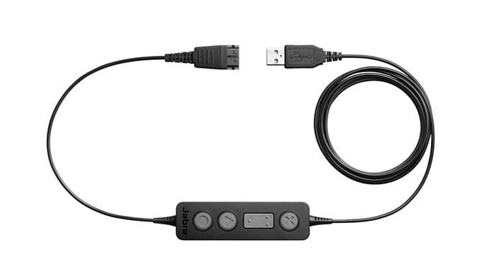 Jabra Link 260, QD-USB, ovl. tlačítko