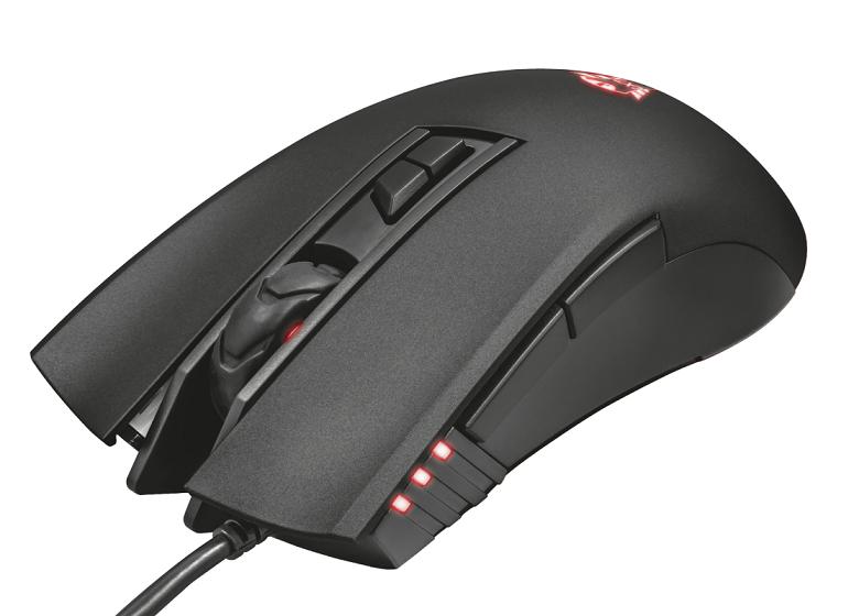 myš TRUST GXT 121 Zeebo Gaming Mouse