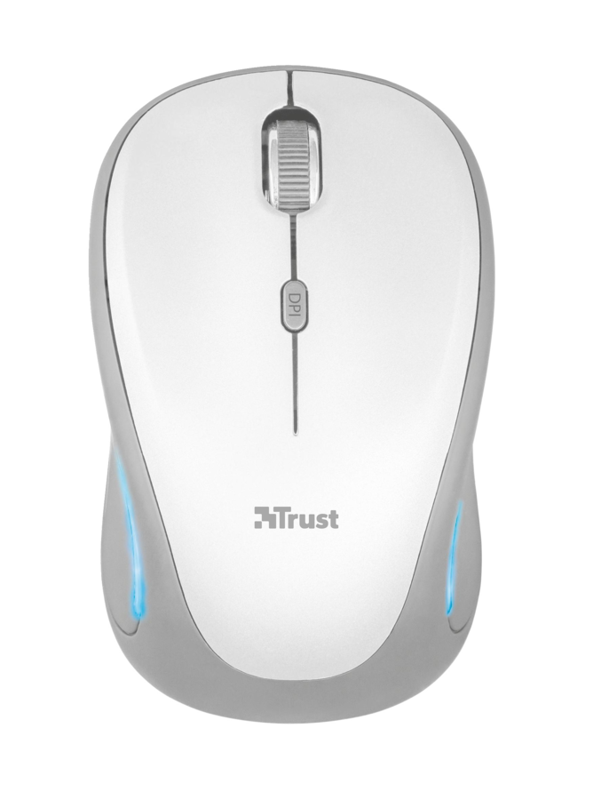 myš TRUST Yvi FX Wireless Mouse - white