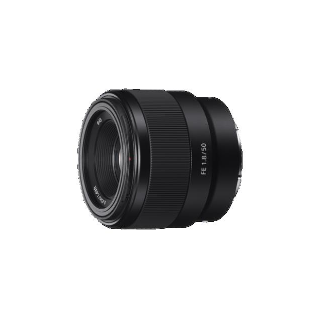 Sony objektiv SEL-50F18F, 50mm, Full Frame, bajonet E