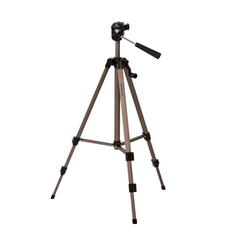 Doerr LITTLE JOE stativ (49-122 cm, 700 g, max.2,5kg, 3D hlava, stříbrný)