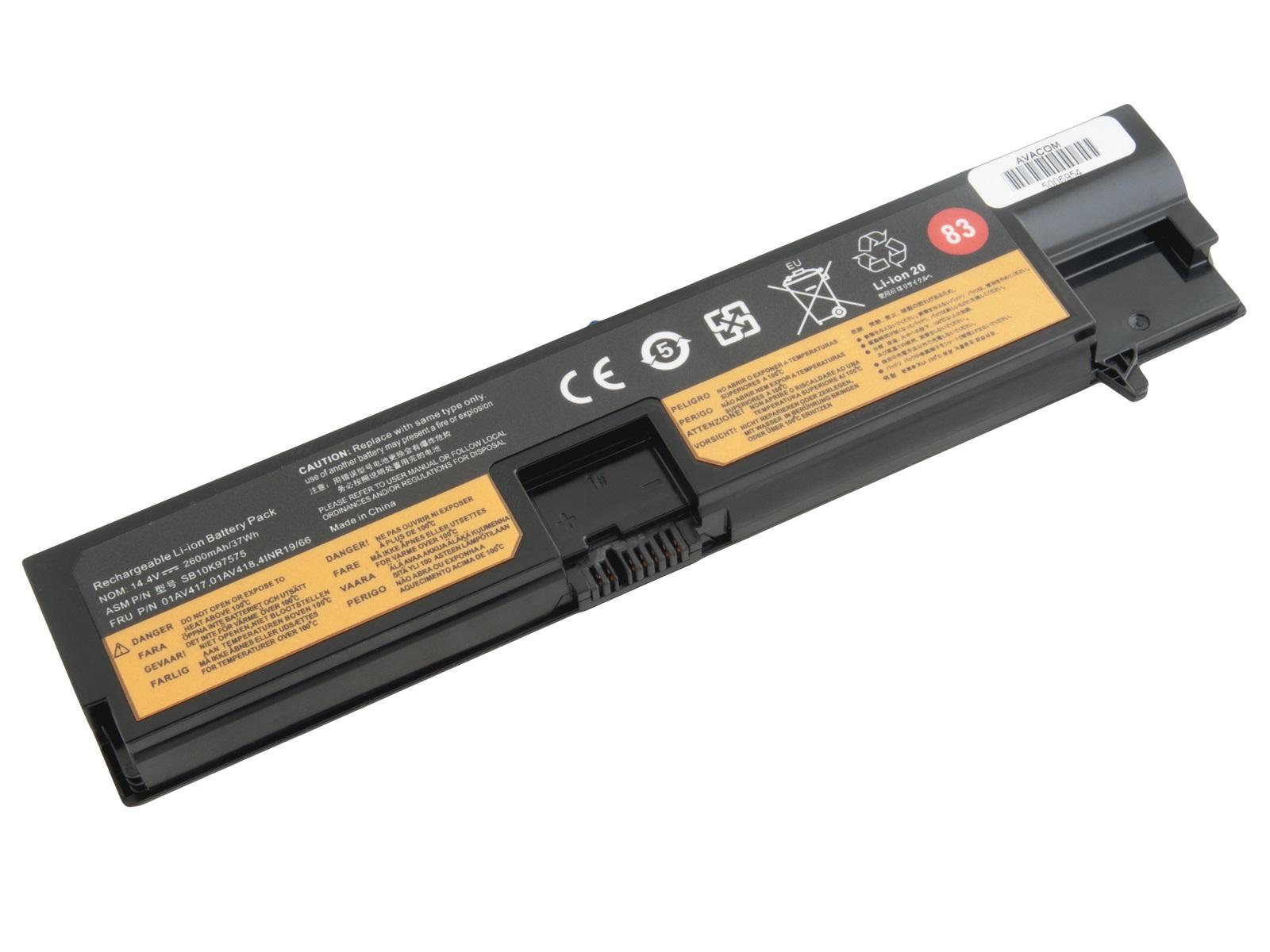Baterie AVACOM pro Lenovo ThinkPad E570 14,4V 2600