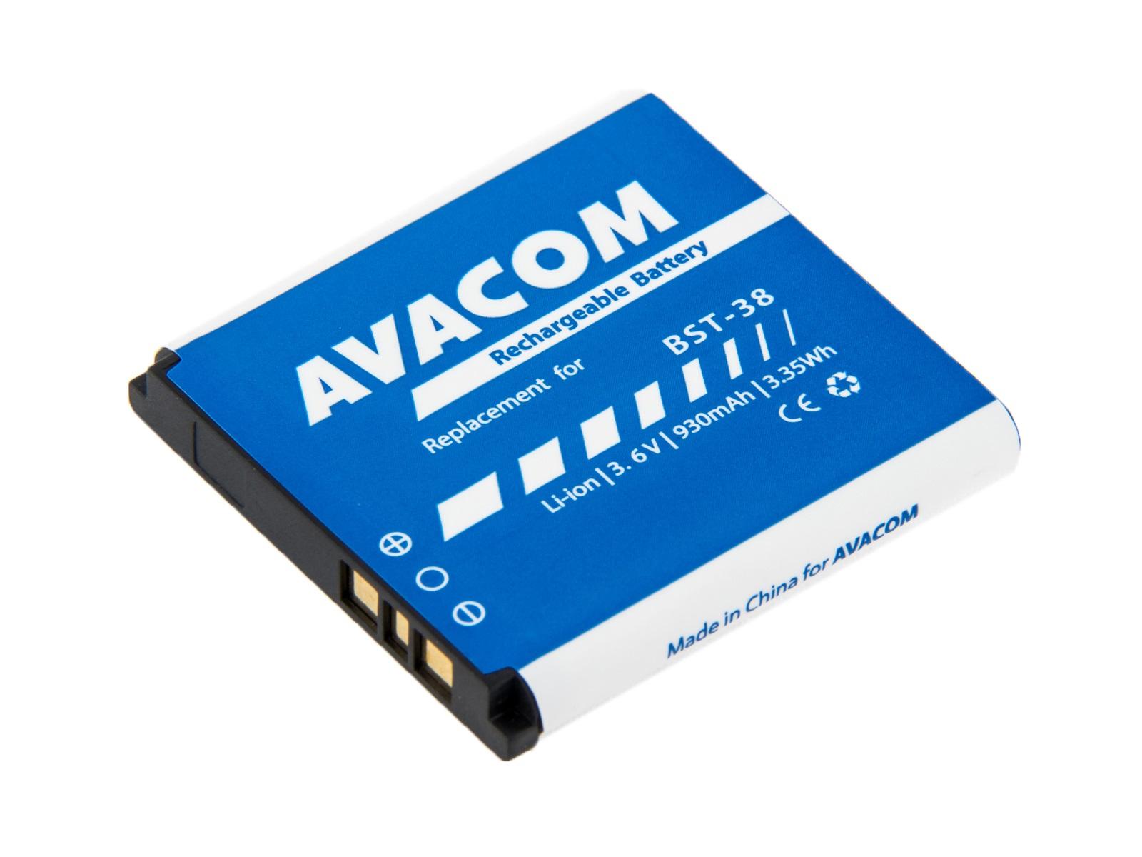 Baterie AVACOM do mobilu Sony Ericsson S510i, K770  Li-Ion 3,6V 930mAh (náhrada BST-38)