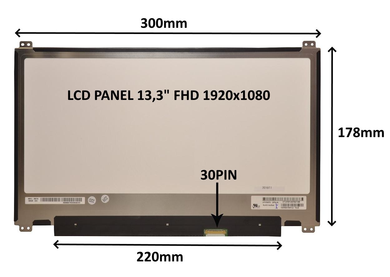 LCD PANEL 13,3