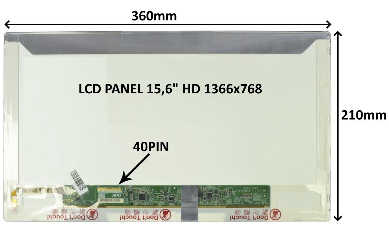 LCD PANEL 15,6