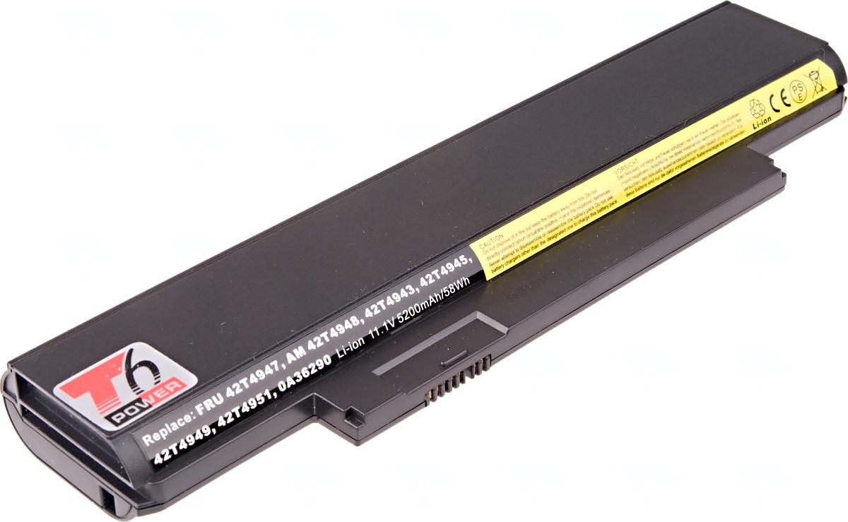 Baterie T6 power Lenovo ThinkPad Edge E120, E125, E320, E325, X121e, X130e, 6cell, 5200mAh