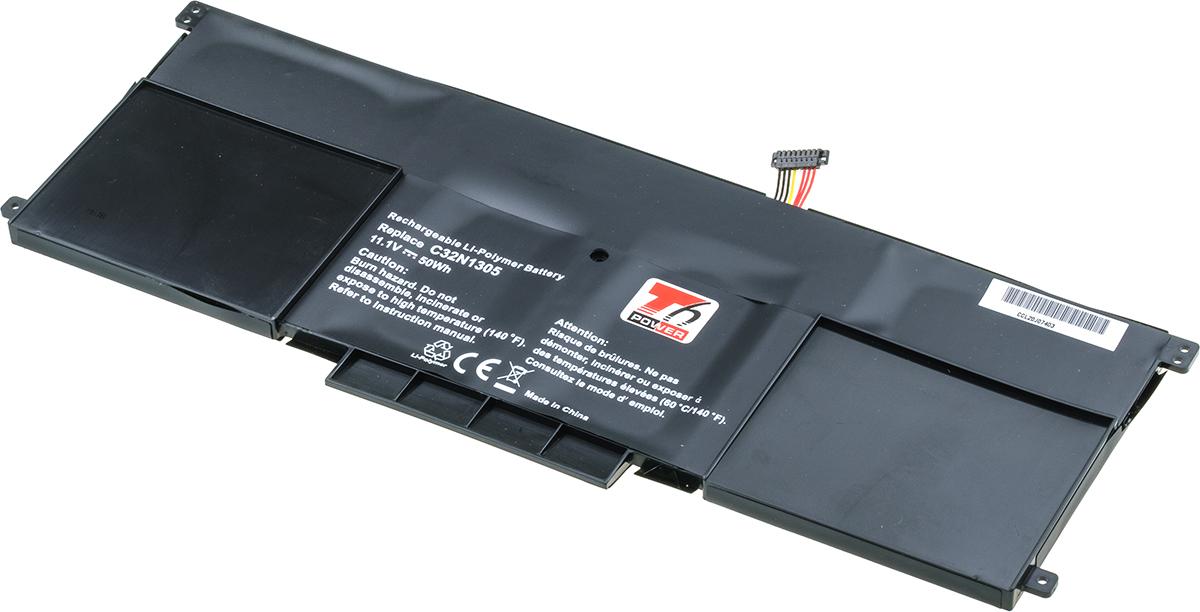 Baterie T6 power Asus UX301LA, 4500mAh, 50Wh, 6cell, Li-pol