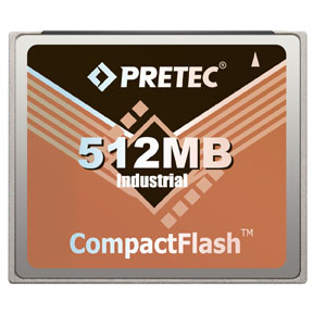 Industrial Pretec CF Card 512MB - Lynx Solution
