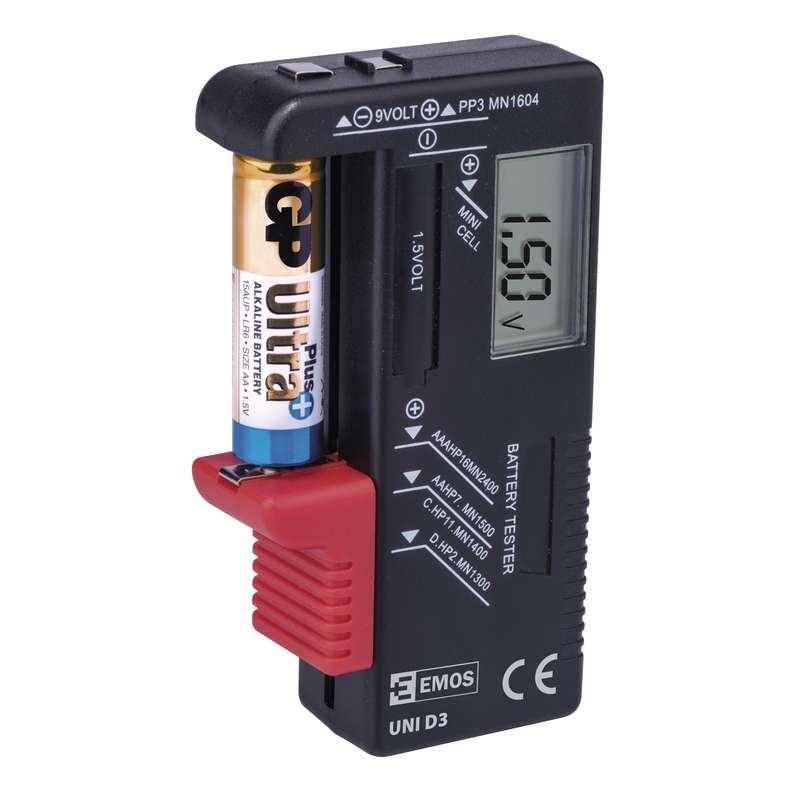 Digitální tester baterií UNI D3