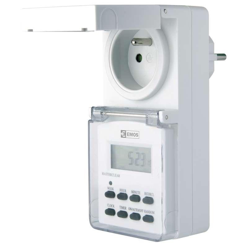 Venkovní digitální spínací zásuvka 3680W (P5507)