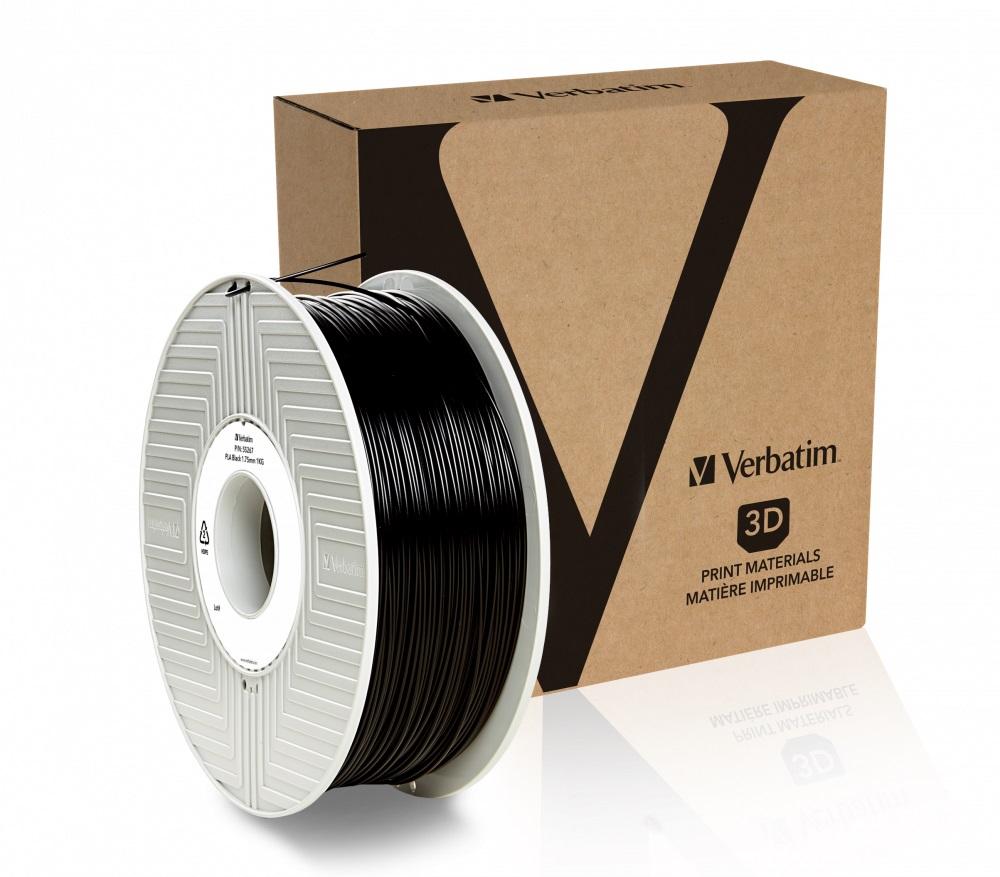 Verbatim PLA struna 1,75 mm, 1kg, černá