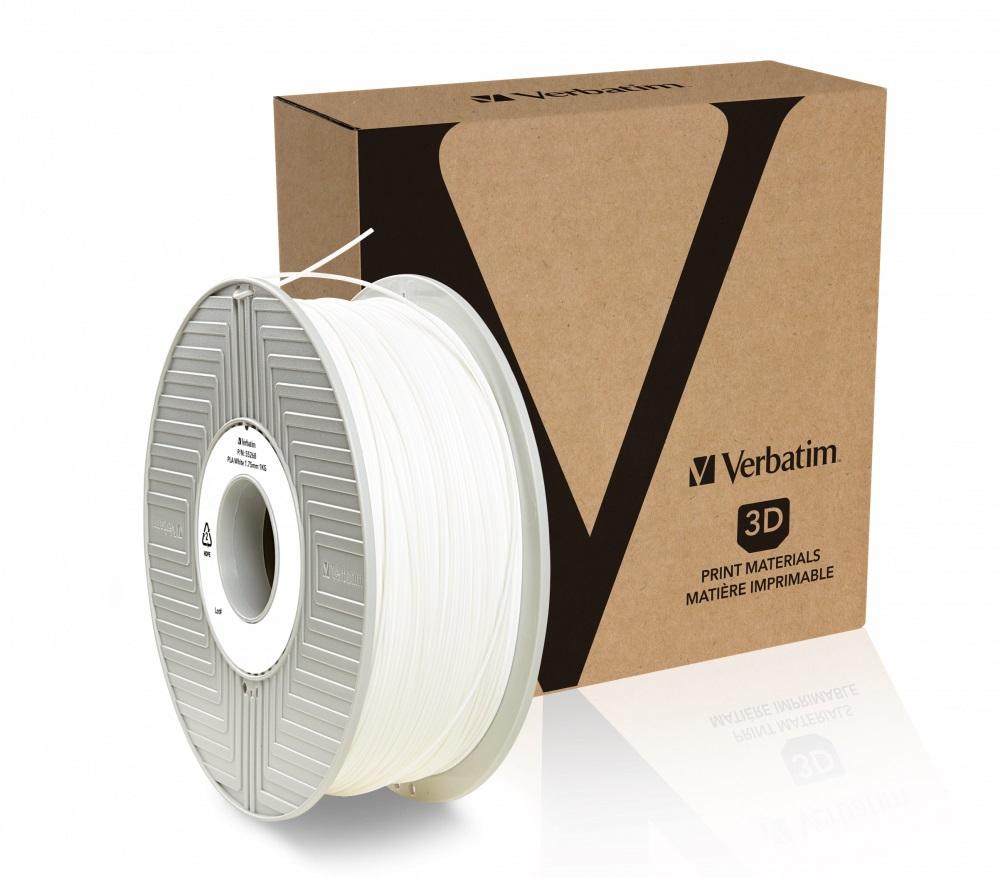 Verbatim PLA struna 1,75 mm, 1kg, bílá