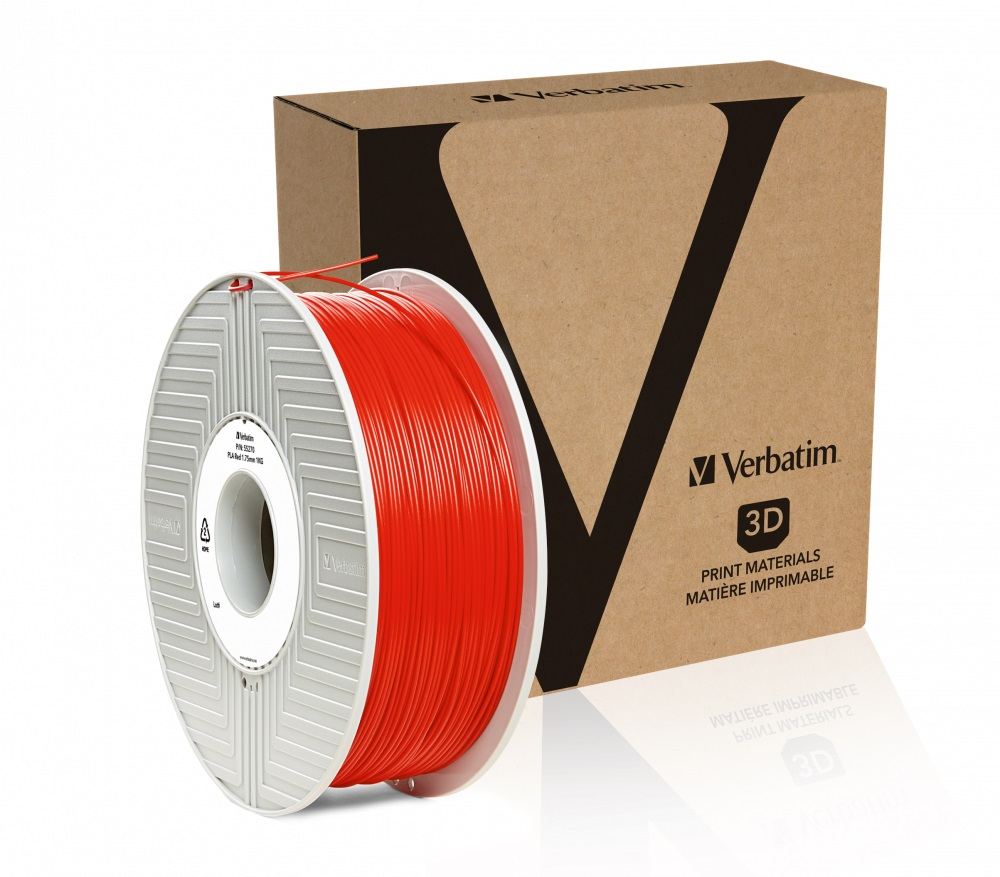 Verbatim PLA struna 1,75 mm, 1kg, červená