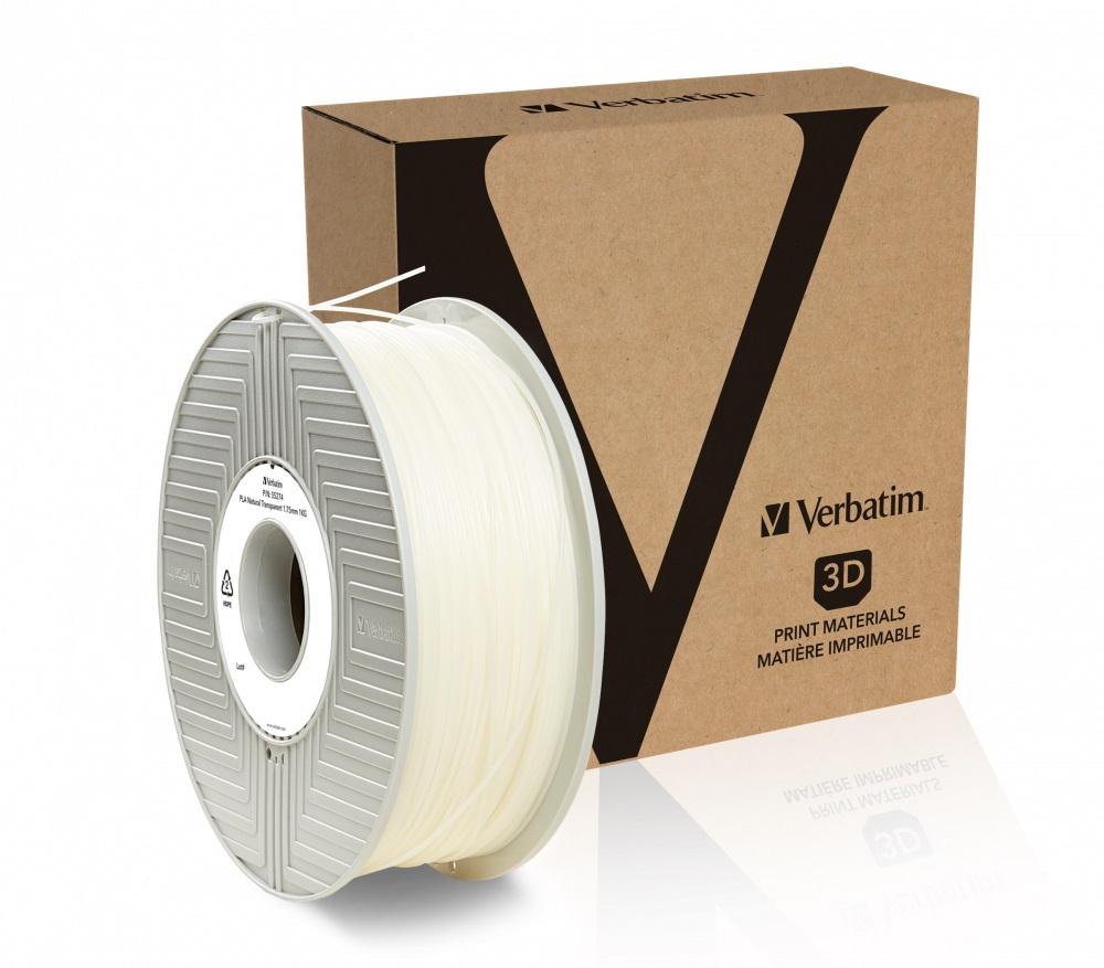 Verbatim PLA struna 1,75 mm, 1kg, transparentní