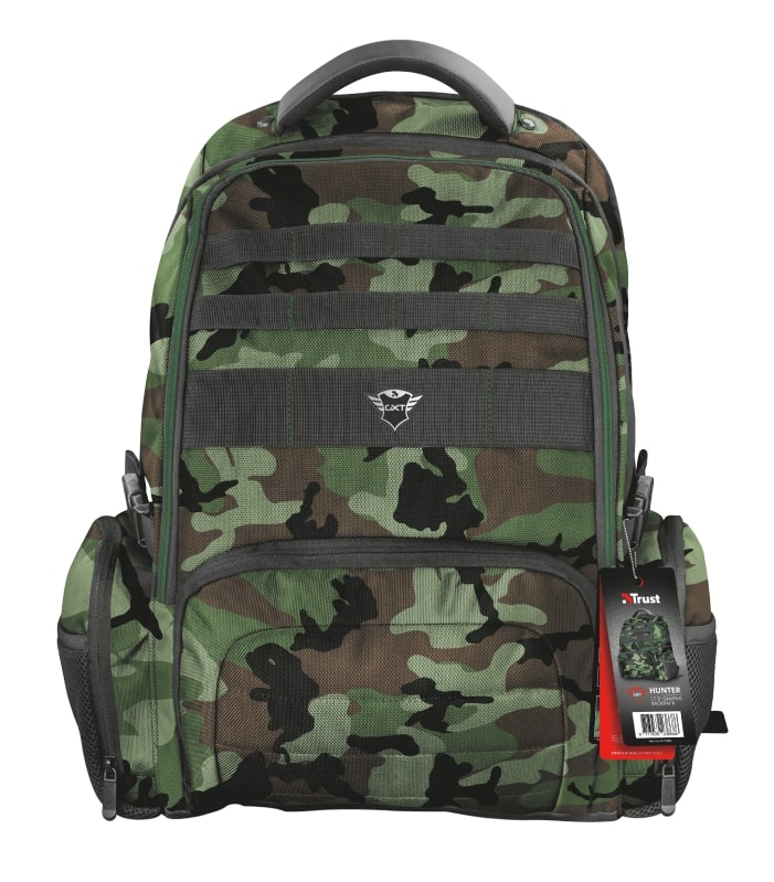 TRUST GXT 1250G Hunter Gaming Backpack pro 17.3