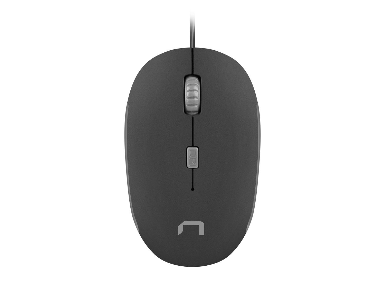 Optická myš Natec Sparrow 1200 DPI, černo-šedá