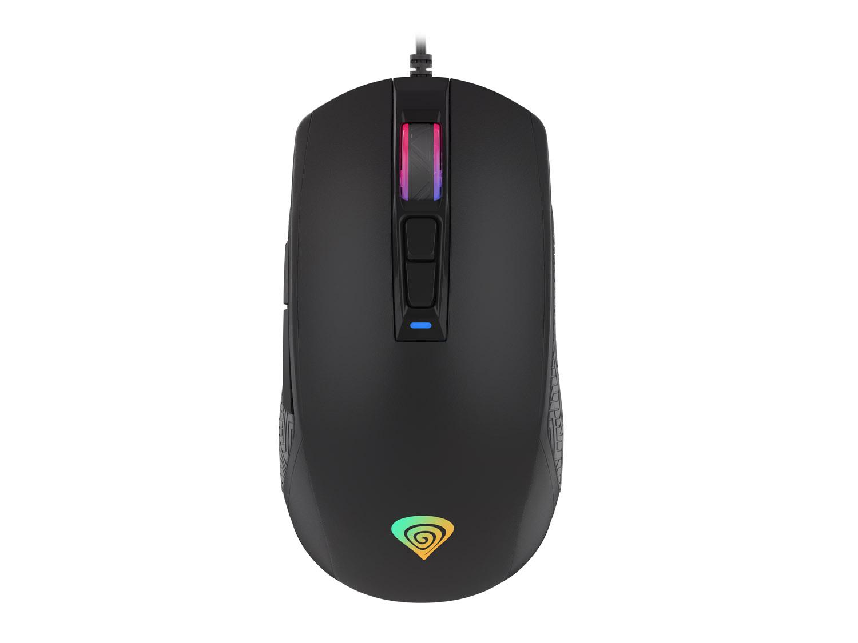 Genesis herní optická myš Krypton 310, 4000DPI s RGB podsvícením a SW