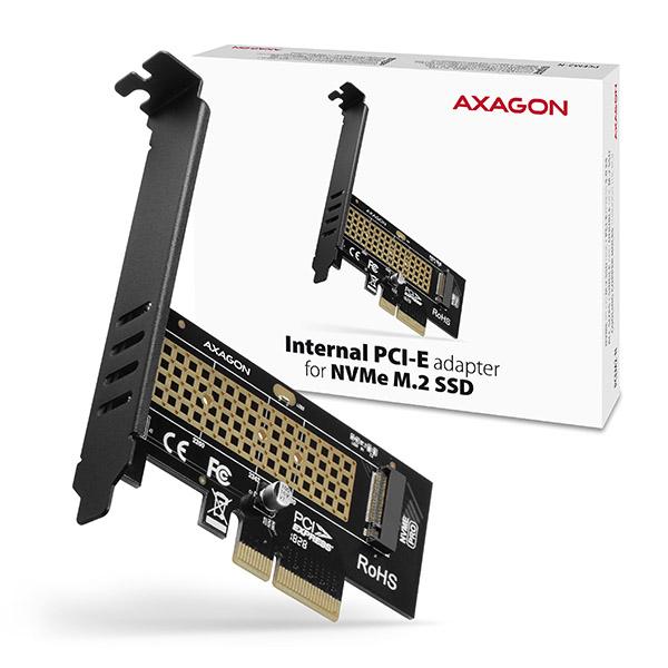 AXAGON PCEM2-N, PCIe x4 - M.2 NVMe M-key slot adaptér