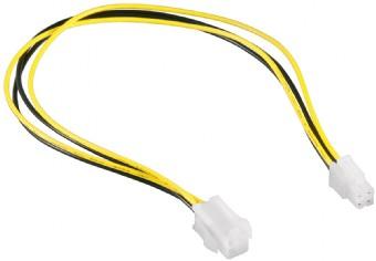 Kabel CABLEXPERT prodloužení ATX 4-pin, 30cm