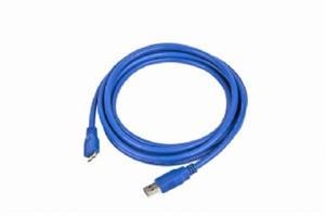 GEMBIRD Kabel USB 3.0 A-Micro B propojovací 1,8m (modrý)