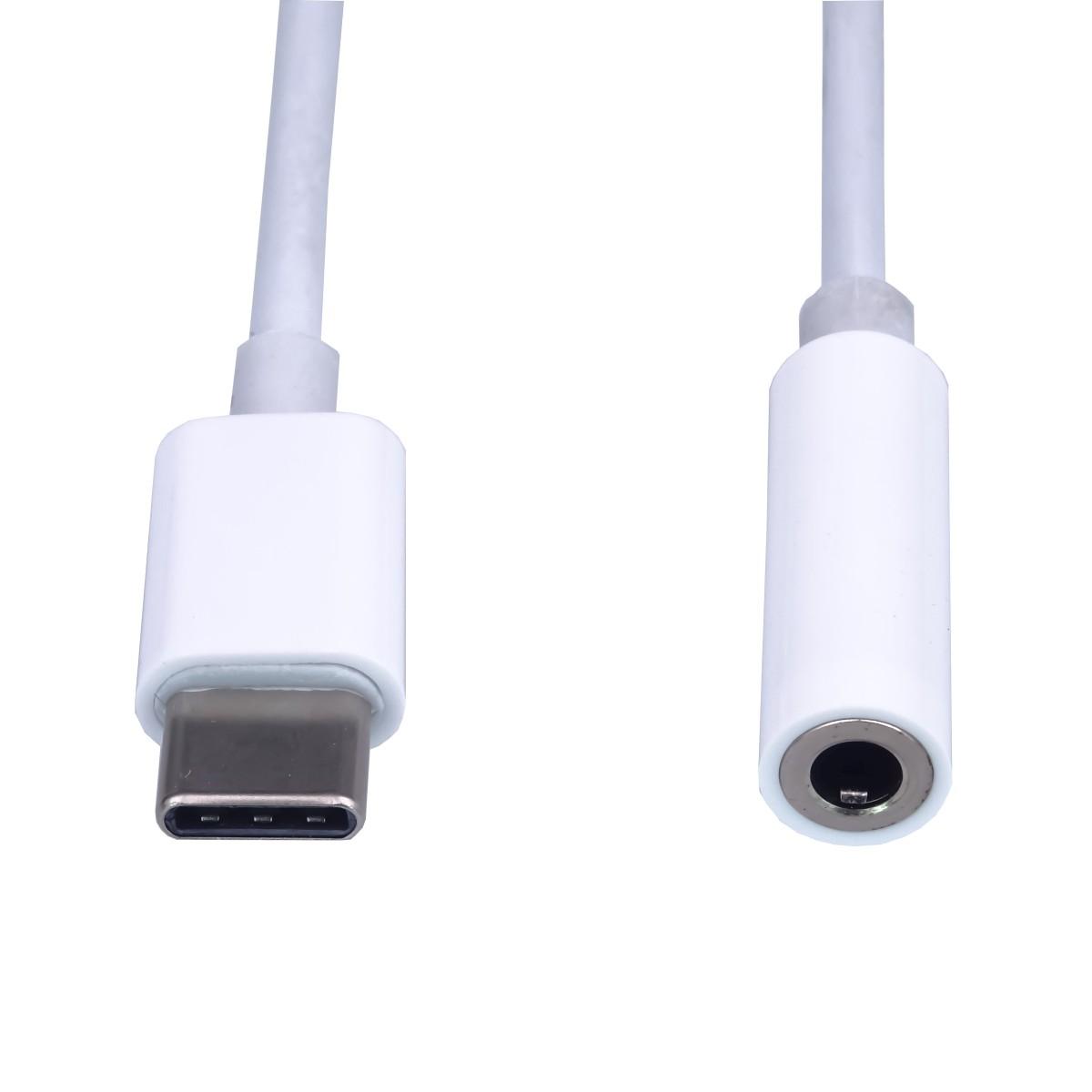 PremiumCord redukce USB-C na jack 3,5mm, 10 cm