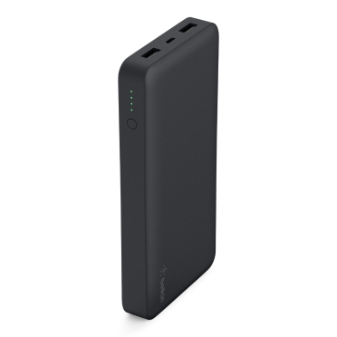 BELKIN Power Pack 15000mAh, 2xUSB port,5V, black