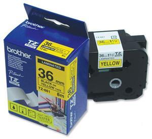 TZE-661,  žlutá/černá, 36mm