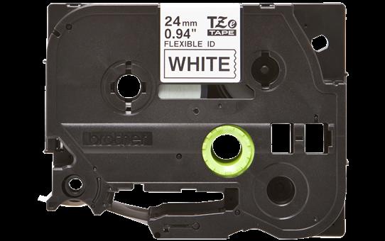TZE-FX251, černý tisk na bílé, šířka 24 mm