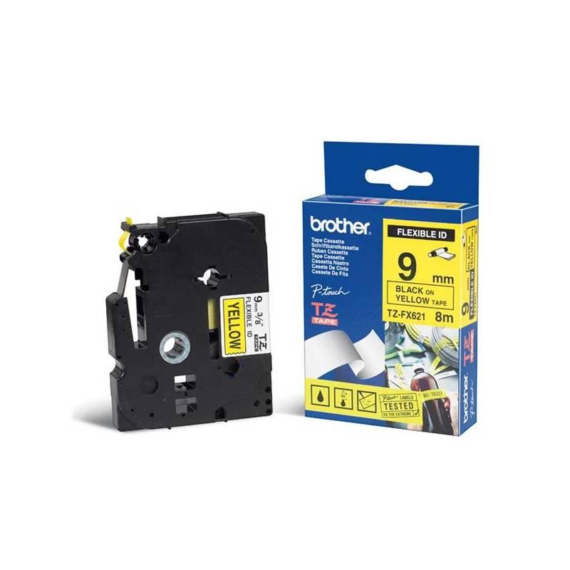 TZE-FX621, žlutá / černá, 9mm