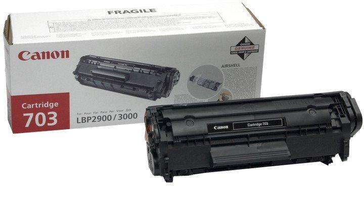 CRG 703, tonerová kazeta pro LBP-2900/3000, černá