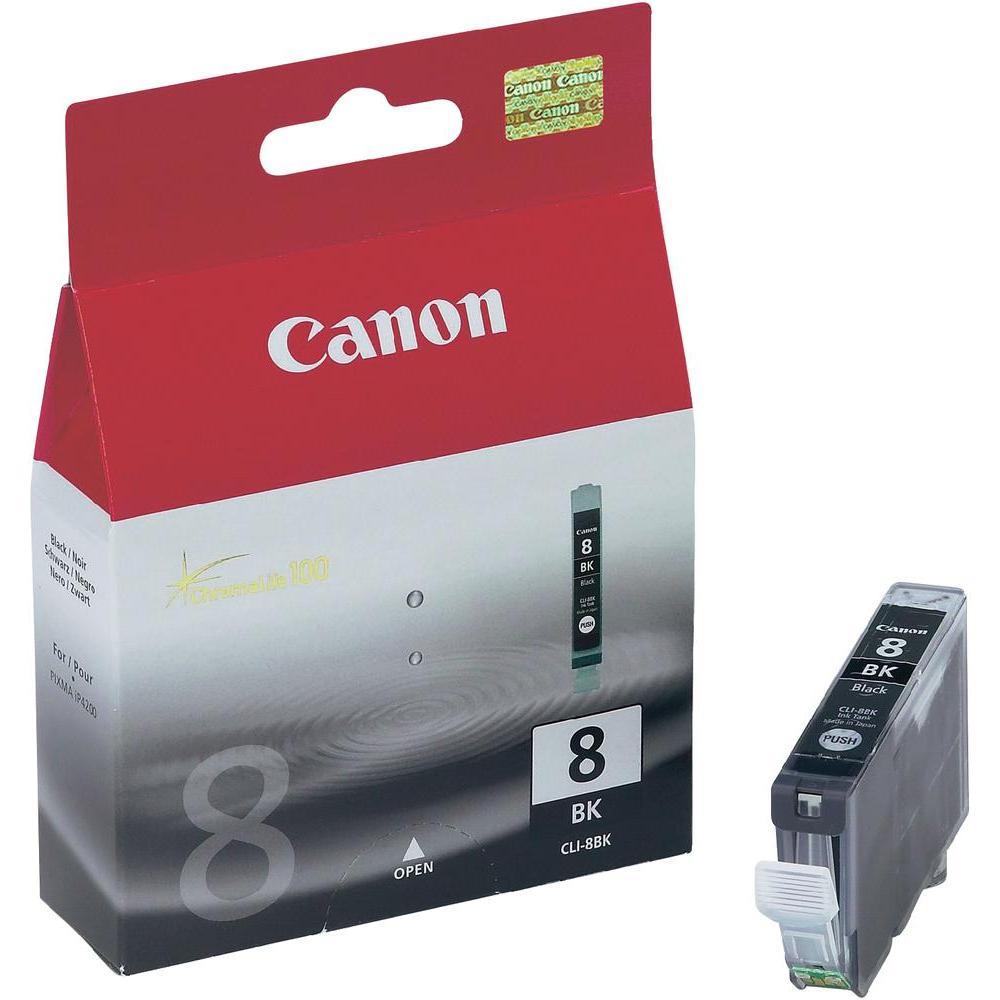 CLI-8B, inkoustová kazeta pro iP4200, černý