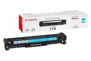 Canon toner CRG-718C, azurový