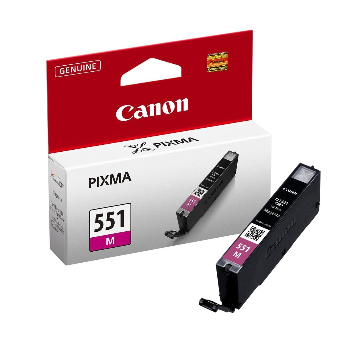 Canon CLI-551 M, purpurová